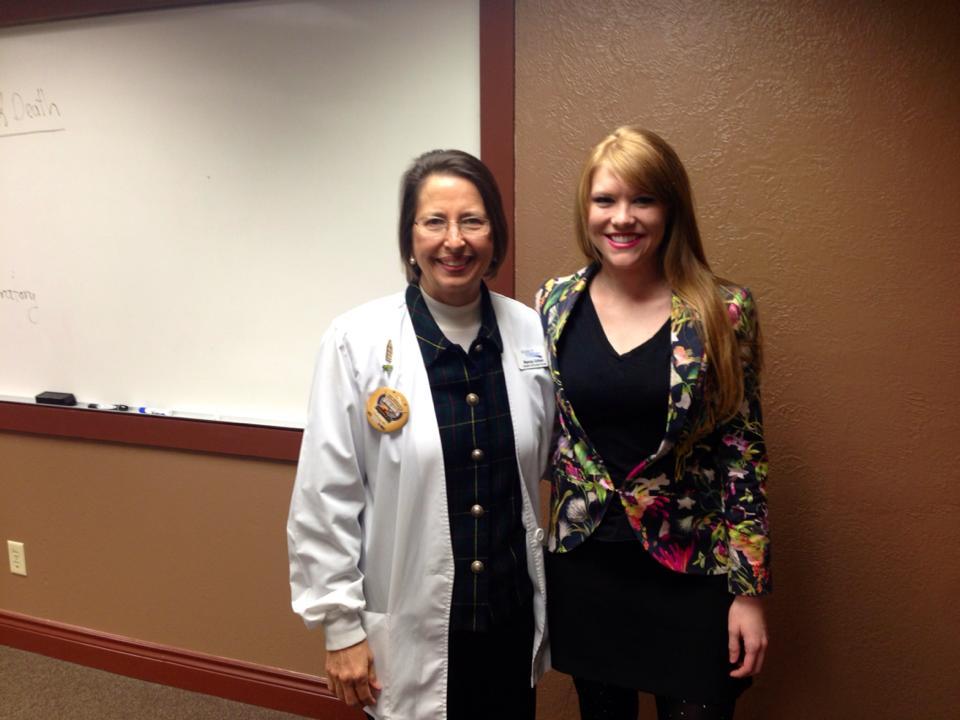 Stacy & Nurse Nancy
