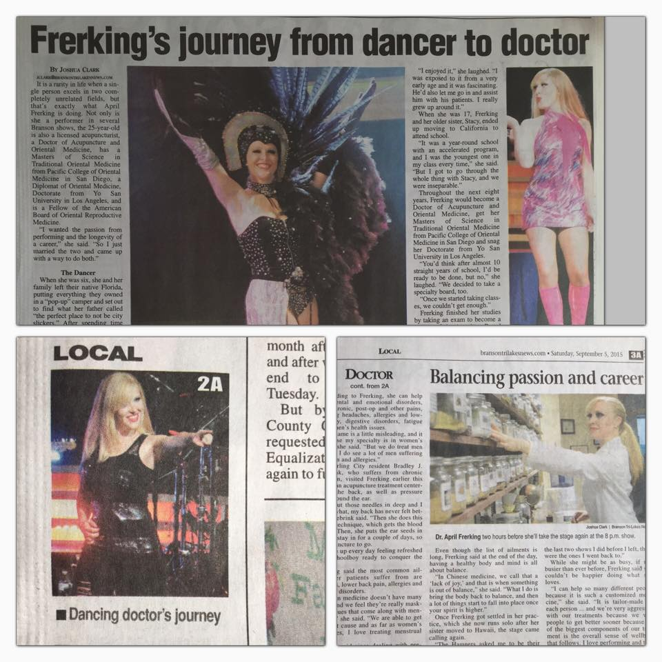 Sept. 2015 newspaper collage