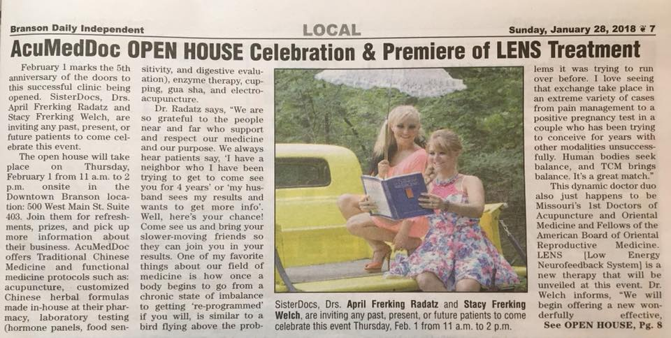 Branson Daily Independent Open House announcement 2018